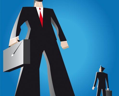 Smaller lenders vs the big banks